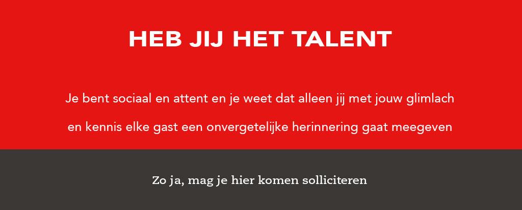 vacatures talent